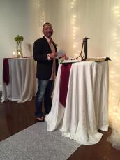 officiating my daughter's wedding